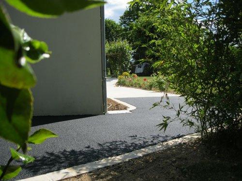 Enrobé noir Bordures pavés granit – Sainte Anne sur Brivet