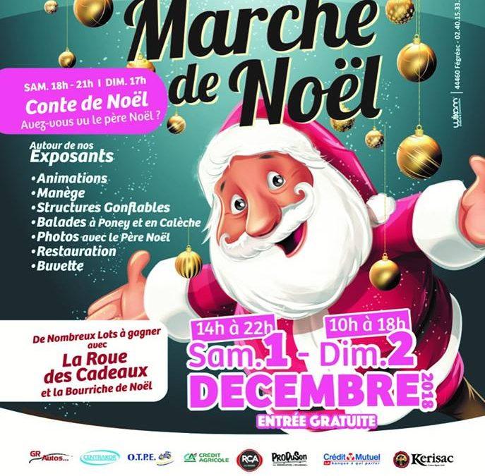 Participation au Marché de Noël de GUENROUET
