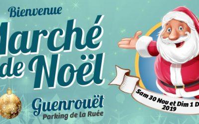 10 ème EDITION DU MARCHE DE NOEL DE GUENROUET 2019